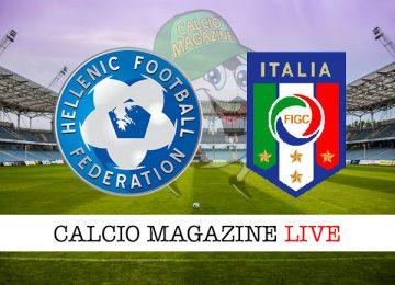 Grecia Italia cronaca diretta live risultato in tempo reale