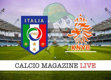 Italia Olanda cronaca diretta live risultato in tempo reale