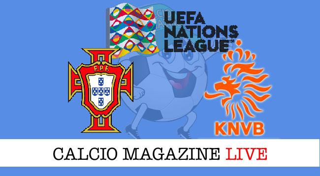 Portogallo Olanda cronaca diretta live risultato in tempo reale