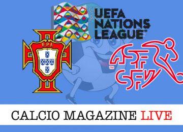Portogallo Svizzera cronaca diretta live risultato in tempo reale
