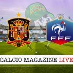 Spagna Francia cronaca diretta live risultato in tempo reale