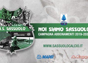 Abbonamenti Sassuolo 2019/2020: prezzi ed informazioni