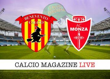 Benevento Monza cronaca diretta live risultato in tempo reale