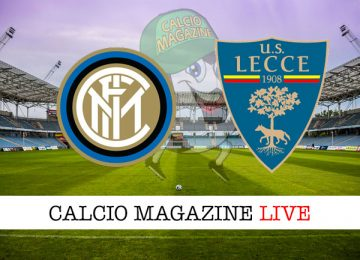 Inter Lecce cronaca diretta live risultato in tempo reale