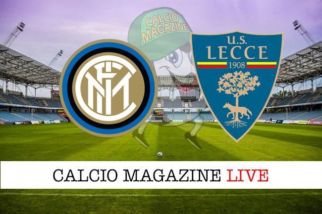 Serie A, Inter - Lecce: padroni di casa nettamente favoriti