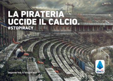 la pirateria uccide il calcio