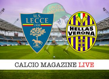 Lecce Verona cronaca diretta live risultato in tempo reale