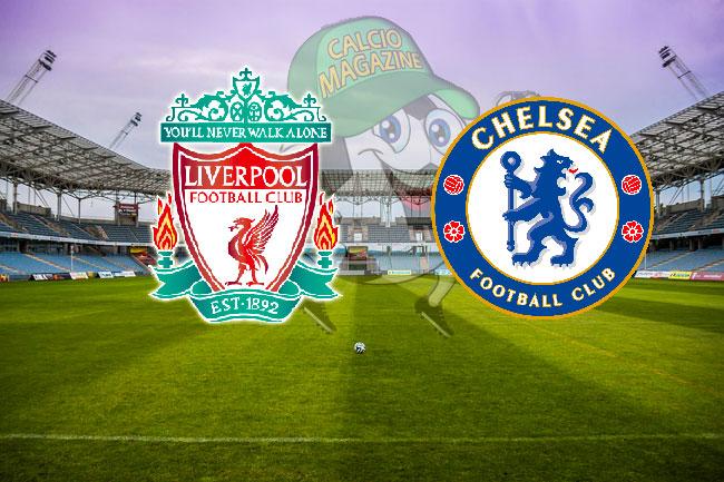 Liverpool Chelsea cronaca diretta live risultato in tempo reale