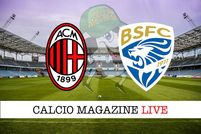 Milan Brescia cronaca diretta live risultato in tempo reale