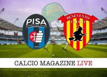 Pisa Benevento cronaca diretta live risultato in tempo reale