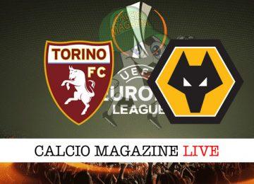 Torino Wolverhampton cronaca diretta live risultato in tempo reale