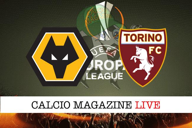 Wolverhampton Torino cronaca diretta live risultato in tempo reale