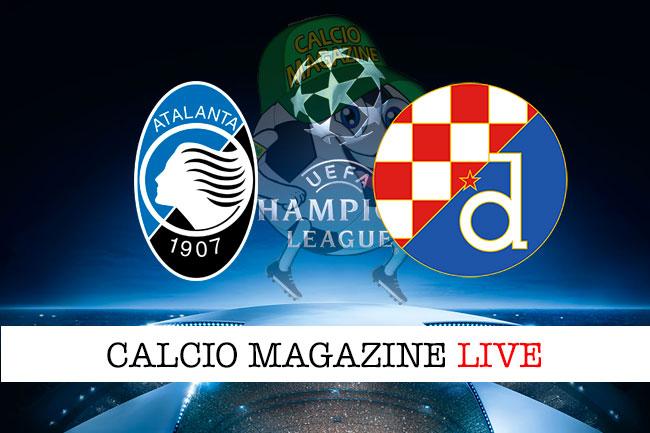 Atalanta Dinamo Zagabria cronaca diretta live risultato in tempo reale