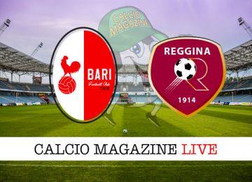 Bari Reggina cronaca diretta live risultato in tempo reale