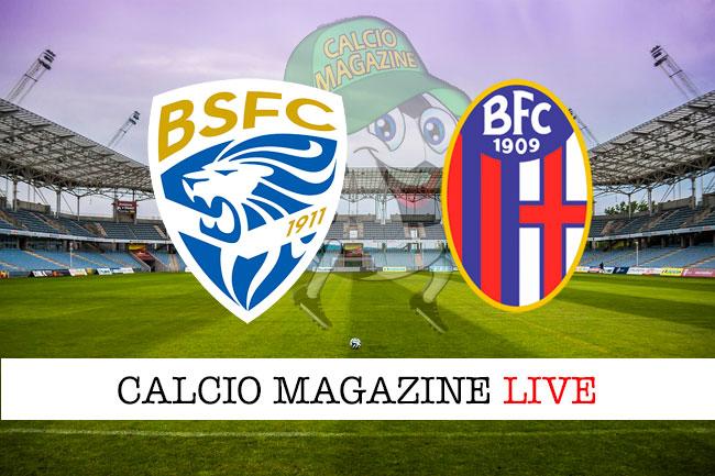 Brescia Bologna cronaca diretta live risultato in tempo reale