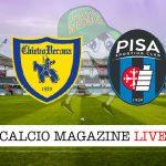 Chievo Pisa cronaca diretta live risultato in tempo reale