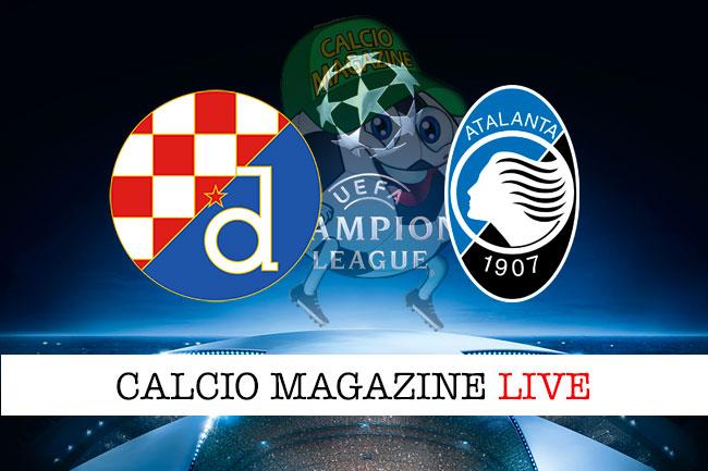 Dinamo Zagabria - Atalanta 4-0: tripletta di Orsic