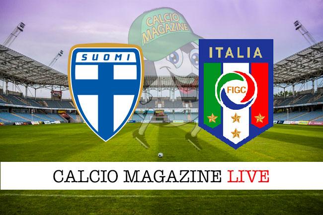 Finlandia Italia cronaca diretta live risultato in tempo reale