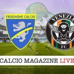 Frosinone Venezia cronaca diretta live risultato in tempo reale