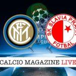 Inter Slavia Praga cronaca diretta live risultato in tempo reale