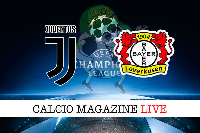Juventus Bayern Leverkusen cronaca diretta live risultato in tempo reale