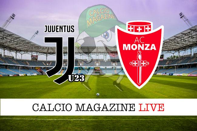 Juve U23 Monza cronaca diretta live risultato in tempo reale