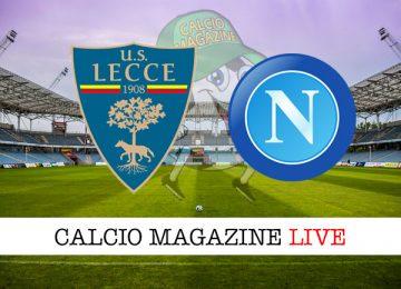 Lecce Napoli cronaca diretta live risultato in tempo reale