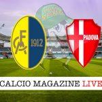 Modena Padova cronaca diretta live risultato in tempo reale