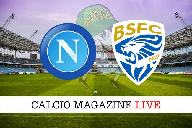 Napoli Brescia cronaca diretta live risultato in tempo reale