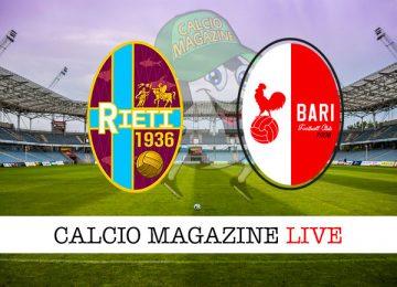 Rieti Bari cronaca diretta live risultato in tempo reale