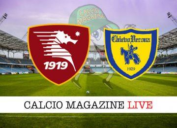 Salernitana Chievo cronaca diretta live risultato in tempo reale