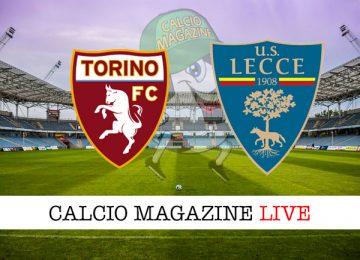 Torino Lecce cronaca diretta live risultato in tempo reale