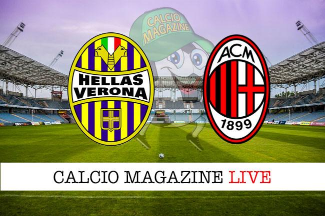 Verona Milan cronaca diretta live risultato in tempo reale