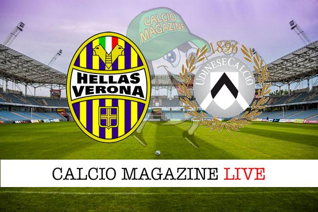 Verona Udinese cronaca diretta live risultato in tempo reale