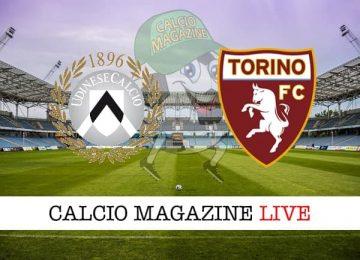 Udinese Torino cronaca diretta live risultato in tempo reale