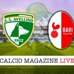 Avellino Bari cronaca diretta live risultato in tempo reale