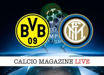 Borussia Dortmund Inter cronaca diretta live risultato in tempo reale
