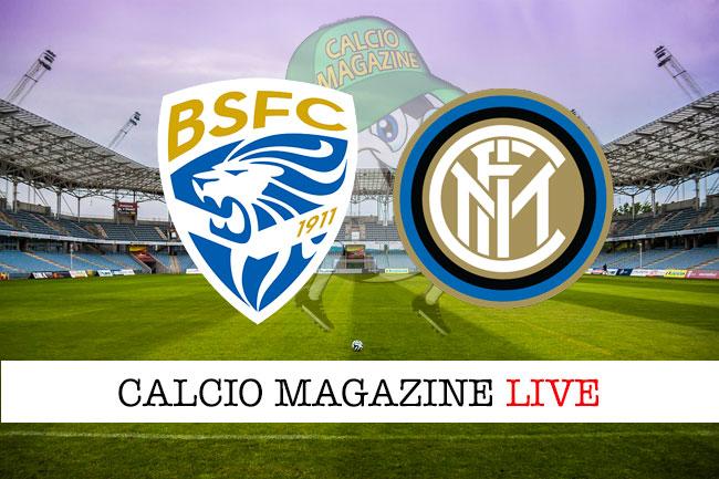 Brescia Inter cronaca diretta live risultato in tempo reale