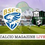 Brescia Sassuolo cronaca diretta live risultato in tempo reale