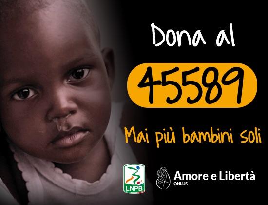 Lega B sostiene la campagna Amore e Libertà Onlus