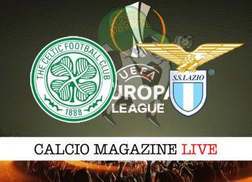 Celtic Lazio cronaca diretta live risultato in tempo reale