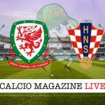 Galles Croazia cronaca diretta live risultato in tempo reale