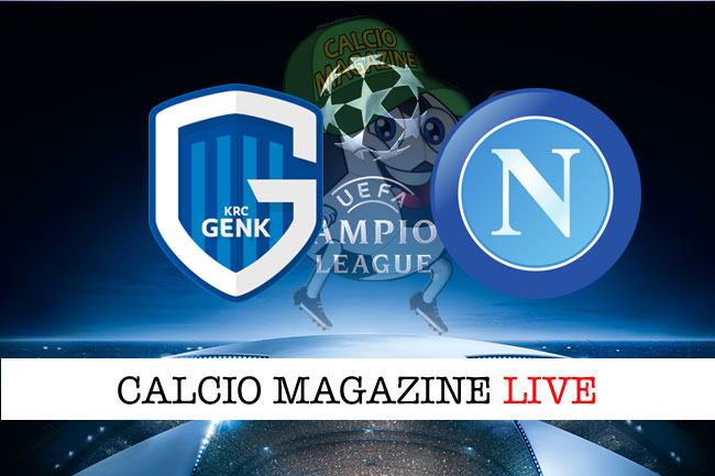Genk Napoli cronaca diretta live risultato in tempo reale
