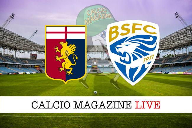 Genoa Brescia cronaca diretta live risultato in tempo reale