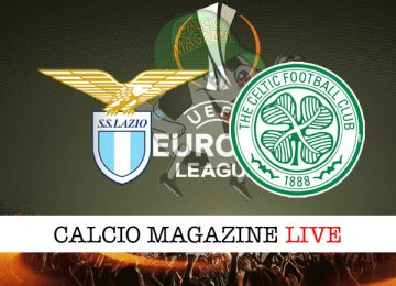 Lazio Celtic cronaca diretta live risultato tempo reale
