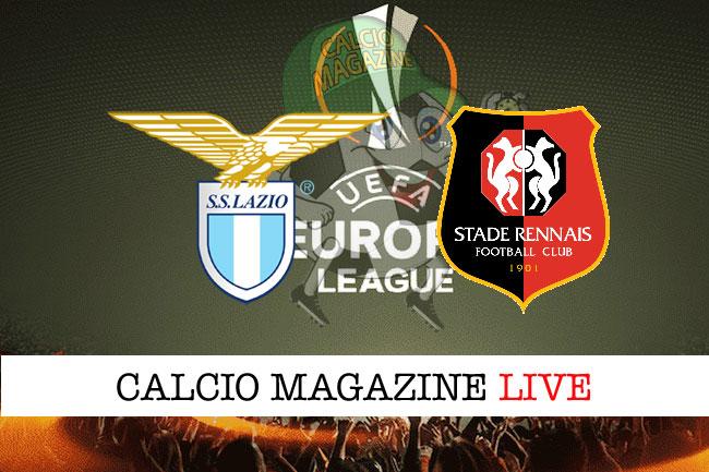 Lazio - Rennes 2-1, il tabellino