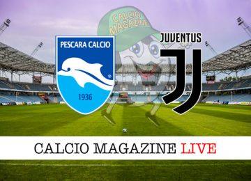 Pescara Juventus cronaca diretta live risultato in tempo reale