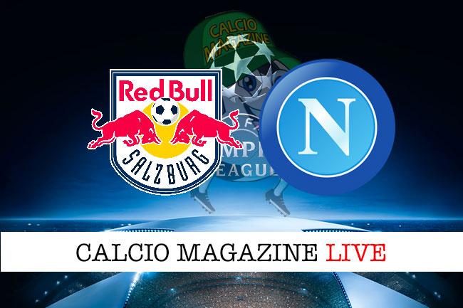 Salisburgo Napoli cronaca diretta live risultato in tempo reale