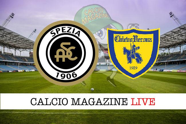 Spezia Chievo cronaca diretta live risultato in tempo reale