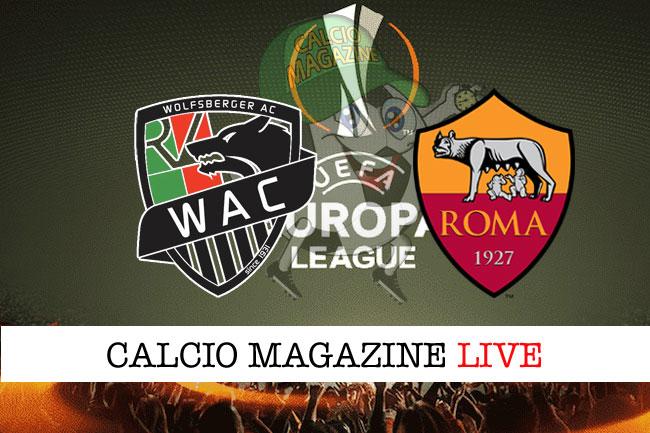 Wolfsberger Roma cronaca diretta live risultato in tempo reale